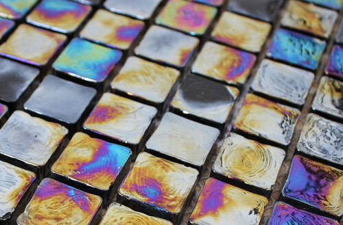 Mozaïektegel Arno Natuursteen Glas