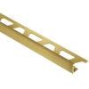 ALU Tegelprofiel 10mm goud recht 250cm