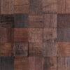 Mozaïek Hout Kika Caddo 30x30cm, Geschikt voor Woonkamer, Badkamer,Wc, Keuken, Kantoor,