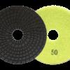 Slijpsysteem Diacer wet korrel 50 Professioneel  , voor tegels, keramiek, dunne graniet, marmer, porselein, – merk Nozar / Van Voorden