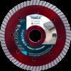 Diamantzaagblad Professioneel 115mm Red Devil Turbo , voor tegels, keramiek, graniet, marmer, porselein, gewapende beton, oude beton, dakpannen, harde baksteen – merk Nozar / Van Voorden