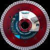 Diamantzaagblad Professioneel 125mm Red Devil Turbo , voor tegels, keramiek, graniet, marmer, porselein, gewapende beton, oude beton, dakpannen, harde baksteen – merk Nozar / Van Voorden
