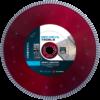 Diamantzaagblad Professioneel 230mmx22,23mm Red Devil Turbo , voor tegels, keramiek, graniet, marmer, porselein, gewapende beton, oude beton, dakpannen, harde baksteen – merk Nozar / Van Voorden