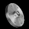 Stalen FlensM14 D80mm voor gemonteerd op diamantzaag