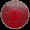 Diamantzaagblad Professioneel 230/22,2mm Red Devil Turbo , voor tegels, keramiek, graniet, marmer, porselein, gewapende beton, oude beton, dakpannen, harde baksteen – merk Nozar / Van Voorden